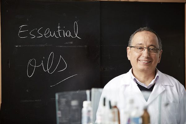 The Morrocan scientist Adnane Remmal developped a combination-drug of antibiotic AND essential oil molecules, so multidrug-resistant bacterial infections might be treated again; he was awarded a prize. You can g00gl him in French and English too.