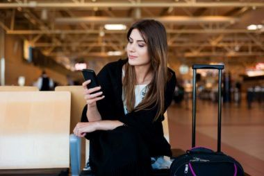 Tips for making airline travel less germy and more enjoyable.