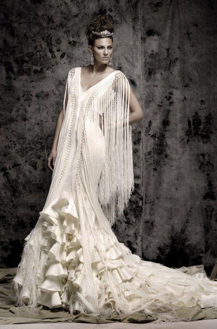 vestido flamenco de Vicki Martín Berrocal