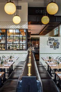 Eat at The General Muir, a classic New York Jewish deli in Atlanta, Georgia.