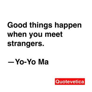 - Yo Yo Ma