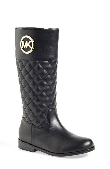 MICHAEL Michael Kors 'Emma Lux' Tall Boot (Toddler, Little Kid & Big Kid) available at #Nordstrom
