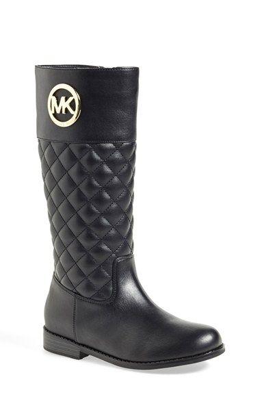 MICHAEL Michael Kors \u0026#39;Emma Lux\u0026#39; Tall Boot (Toddler, Little Kid \u0026amp; Big