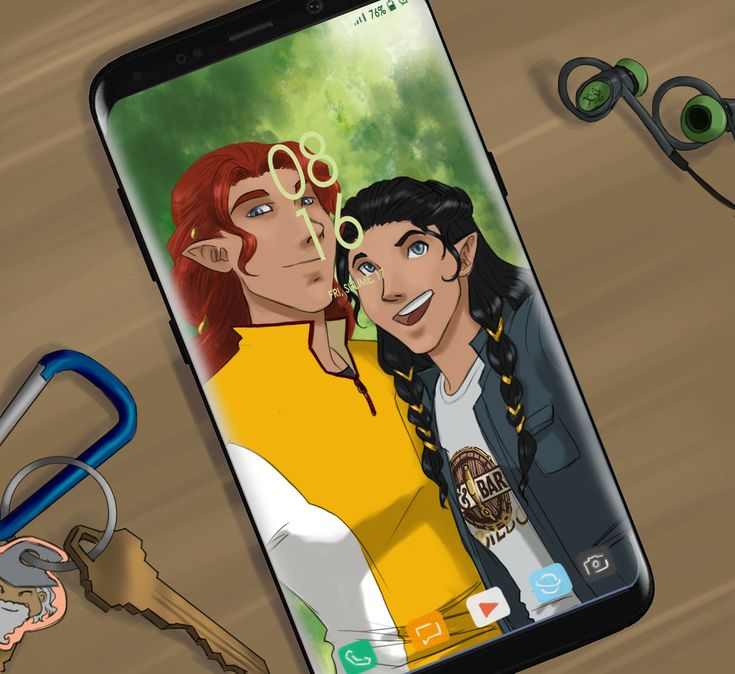 New phone I like modern!au stories In the image: Fingon has a new phone and it already has Maedhros as the wallpaper. :3 Also, please remember that there's gonna be a FeanoreanWeek from March 19th,...