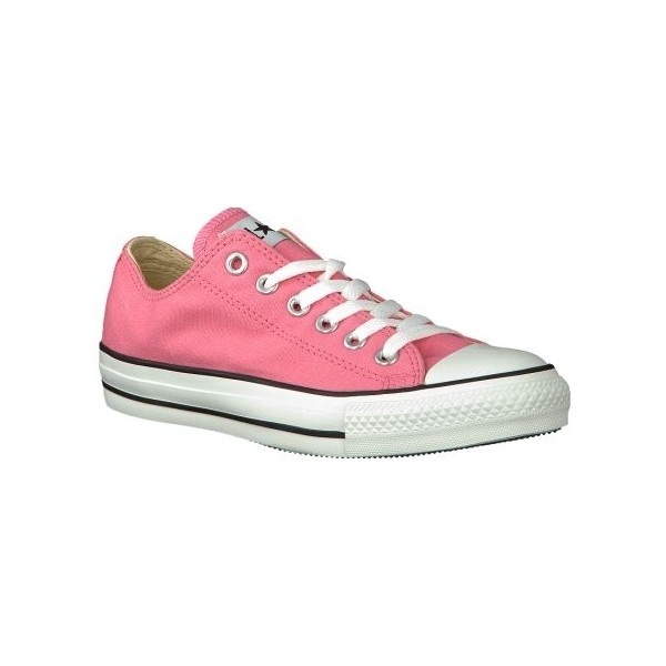 Roze Converse sneakers AS OX ($86) ❤ liked on Polyvore
