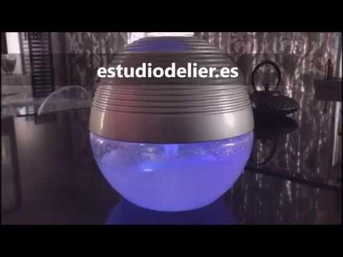 humidificador delier, limpia, purifica, aromatiza  el espacio de forma natural y eficaz, disponible en tienda online aromas www.estudiodelier.es