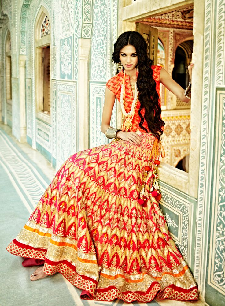 The Jaipur Bride 2013 collection by Anita Dongre. #bridal