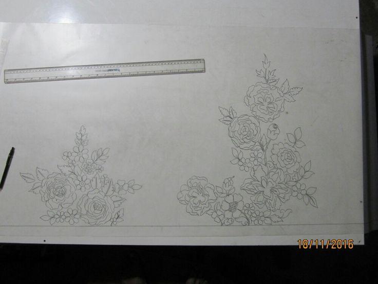 floral umbrella design