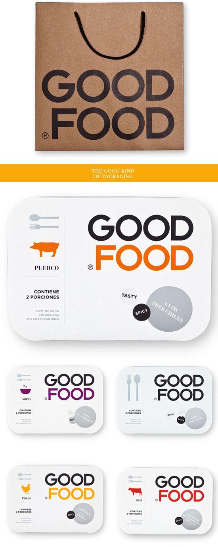 Good Food, packaging design