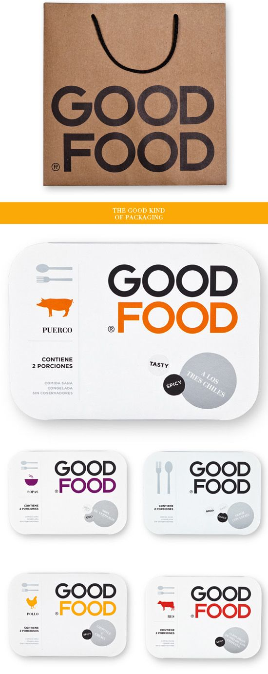 Good Food, packaging design