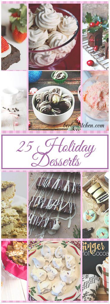 A collection of delicious seasonal recipes that will compliment any holiday meal. via @berlyskitchen