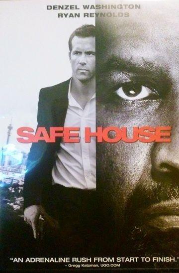 Denzel Washington Ryan Reynolds Safe House (DVD, 2012) Spy vs Spy?