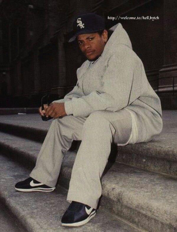 Eazy-E wearing Nike Cortez | Nike Cortez | Pinterest ...