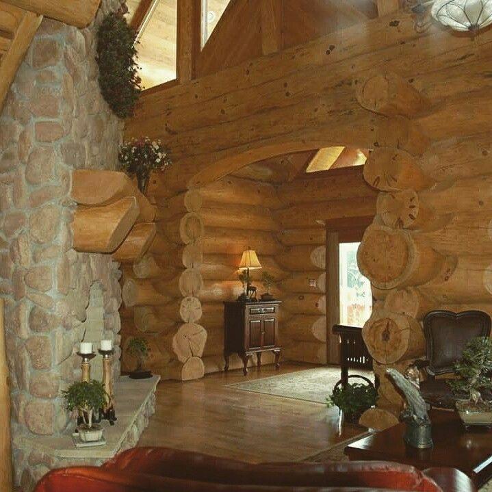Nuevo tronco redondo 300 y 350 mm viviendas de madera for Antecomedores redondos madera