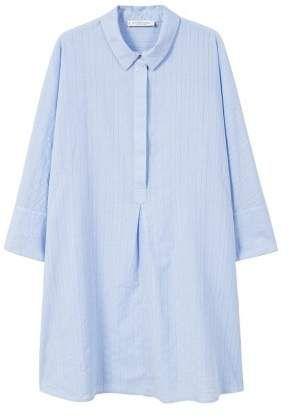 3744f135cb146 Violeta By Mango Violeta BY MANGO Shirt textured dress
