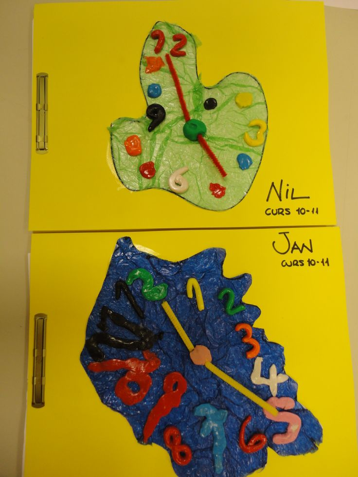 Tapa realitzada per al projecte El Temps. Per a realitzar-la els nens es van inspirar en el rellotge de Salvador Dalí.