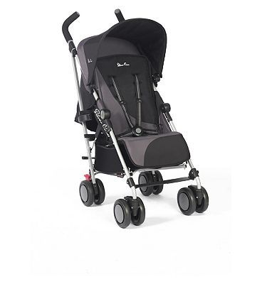 #Silver #Cross Pop #Pushchair #black/grey #10192054 #580 #Advantage card #points. The Pop #Pushchair from #Silver #Cross #offers a #lightweight and #compact #design, #convenient and #comfortable #enough for long days out. #Suitable from #birth with lie flat #position. FREE #Delivery on #orders over 45 GBP. #(Barcode EAN=5055836901729)