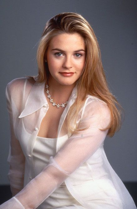 See-thru blouses - Alicia Silverstone ~ 90s fashion at it's best!