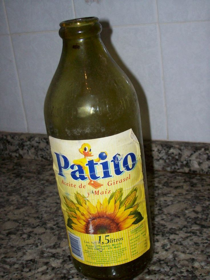 Antiguas Botellas De Aceite