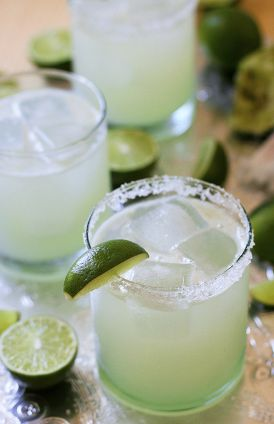The Perfect Margarita - you seriously can't go wrong! (it's not my recipe, but as long as it's made with real lime juice and not sour mix, it's probably good.)