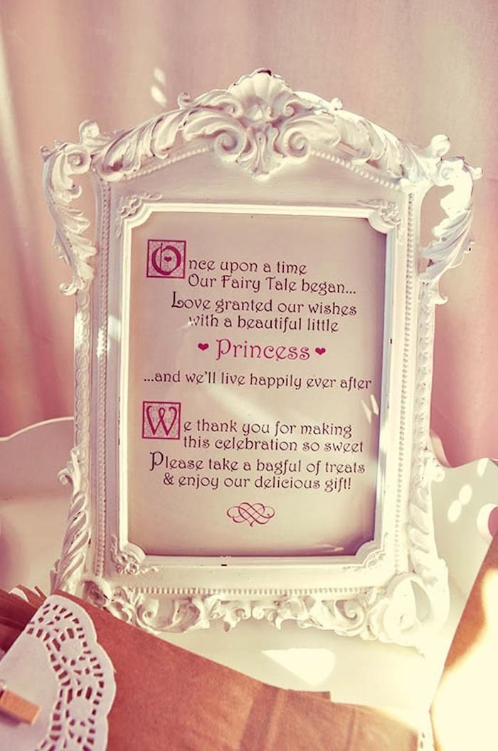 Image result for princess baby shower theme ideas