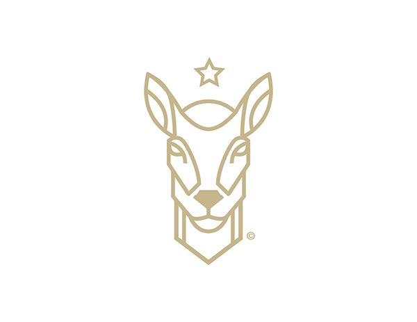 KKG© by Kareem Gouda #logo #illustration #deer #brabding #identity #graphic…