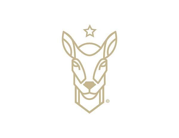 KKG© by Kareem Gouda #logo #illustration #deer #brabding #identity #graphic #design