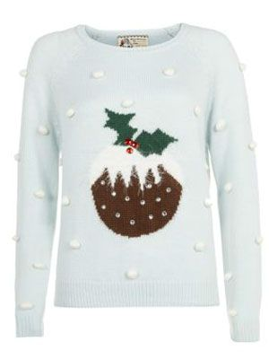 New Look Christmas Pudding Jumper
