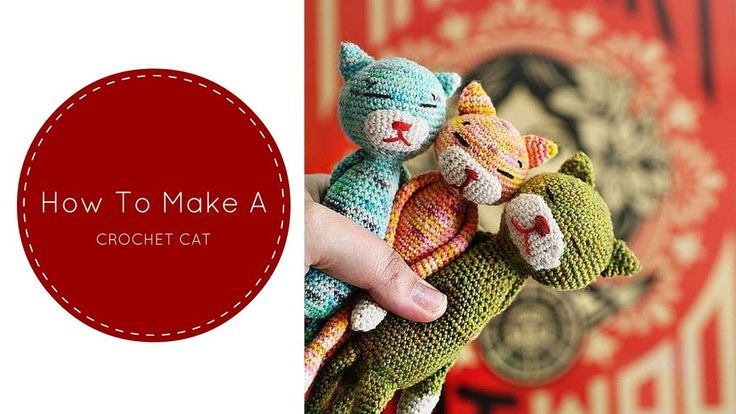 Make a cute cat this week with one of these free crochet patterns!  Purrrfect for beginners and seasoned crocheters alike,