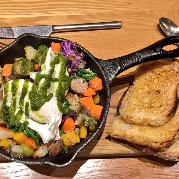 Check out this list: Where to Eat Brunch in Vancouver