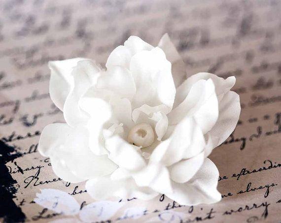 71411_Beige bruiloft haaraccessoires haar bloem haar door ArsiArt
