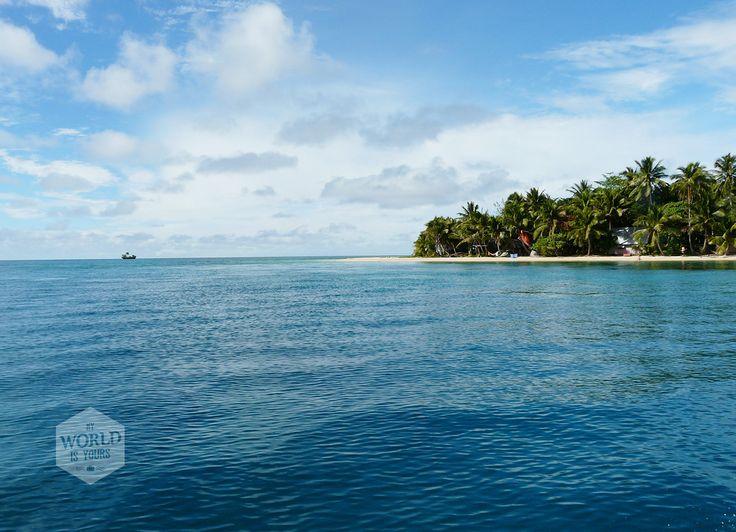 Stel je voor:  Je bevindt je op een tropisch eiland dat niet zou misstaan op de achtergrond van je computer. Foto: Leleuvia Island, Fiji, Stille Oceaan