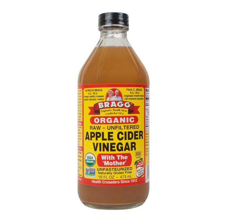 APPLE CIDER VINEGAR (Raw - Organic) (16oz) 473ml | Bragg Apple Ci