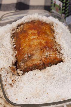 Lomo a la sal, receta