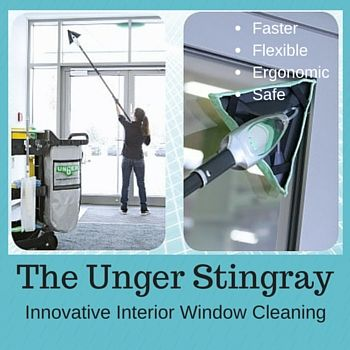 Need a faster way to clean interior windows? The Unger Stingray window cleaning tool is the most efficient indoor cleaning system ever! 25% faster. More ►►► http://thecleaningconsultant.com/unger-stingray-window-cleaning-tool/