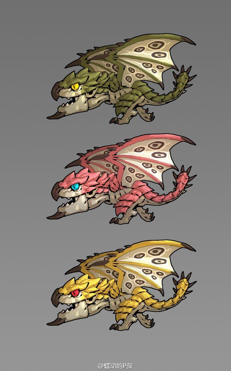 Monster Hunter Chibi Rathian