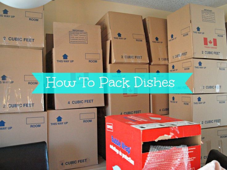 how to pack dishes for moving youtube