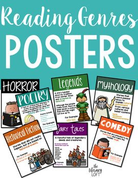 Reading Genres Posters