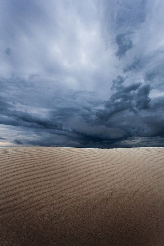 Storm over a sand dune, Storm, sand dune, big drift, Wilsons Promontory, moody, clouds, black, grey, dune, sand, awesome, dramatic, ripples, tranquil, beautiful