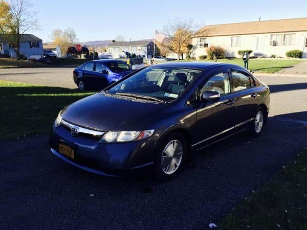2007 Honda Civic Hybrid (Apalachin) $5700: < image 1 of 7 > 2007 Honda Civic Hybrid fuel: hybridtitle status: cleantransmission: automatic…