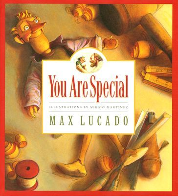 Max Lucado's Wemmicks: You Are Special, Picture Book.  These books are great for teach how special and treasured you are to God.