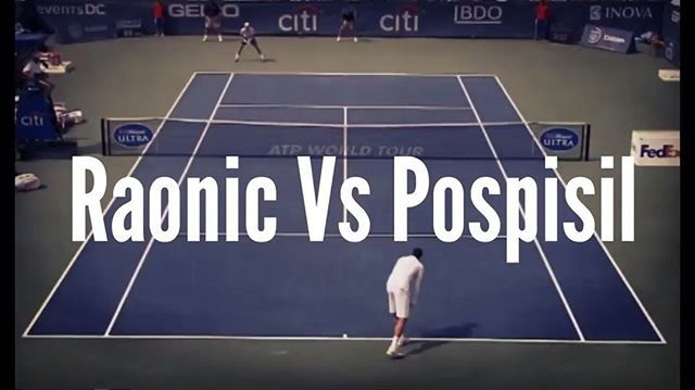 Raonic reads Pospisil's volley perfectly! 💯👏🎾⠀ #etennisleague #etennisleaguenation #raonic #milosraonic #pospisil #citiopen #tennis #tennisvolley #volley #tenis #tennis🎾 #🎾 #tennisvideo #tennislife #tennispoint