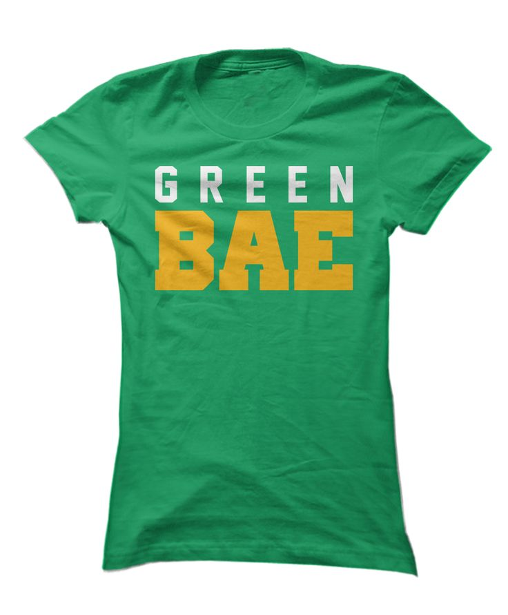 I don't know whether I hate this or love this. Green Bay Packers shirt.