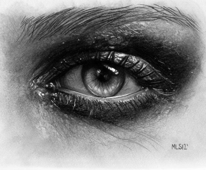 40 Beautiful and Realistic Pencil Drawings of Eyes | Read full article: http://webneel.com/40-beautiful-and-realistic-pencil-drawings-human-eyes | more http://webneel.com/drawings | Follow us www.pinterest.com/webneel