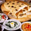toszkán olivás lapos kenyér (mártogatós mellé)