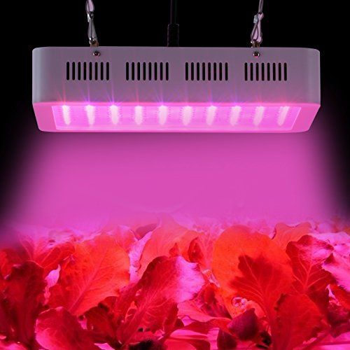 Galaxyhydro LED Grow Plant Light 300w Greenhouse Indoor Hydroponic Grow Lighting 9 Band | The Lawn & Garden