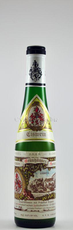 1991 Maximin Grünhäuser Herrenberg, Riesling Eiswein, Weingut Maximin Grünhaus - Schlosskellerei C. von Schubert, Mosel, Deutschland (€ 150)