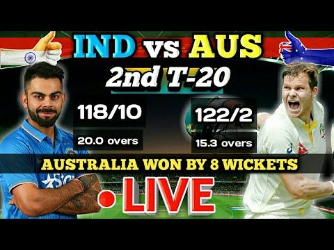 LIVE SCORE - IND vs AUS 2nd T-20 Match India vs Australia Live Cricket Match - (More info on: https://1-W-W.COM/Bowling/live-score-ind-vs-aus-2nd-t-20-match-india-vs-australia-live-cricket-match/)