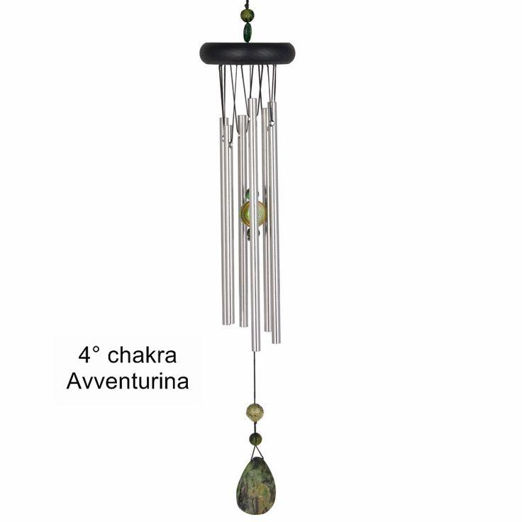 Campana a vento 4° chakra: Avventurina