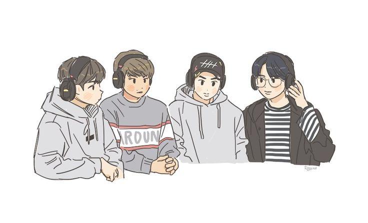 Jaehwan- Woojin- Sungwoon - Minhyun